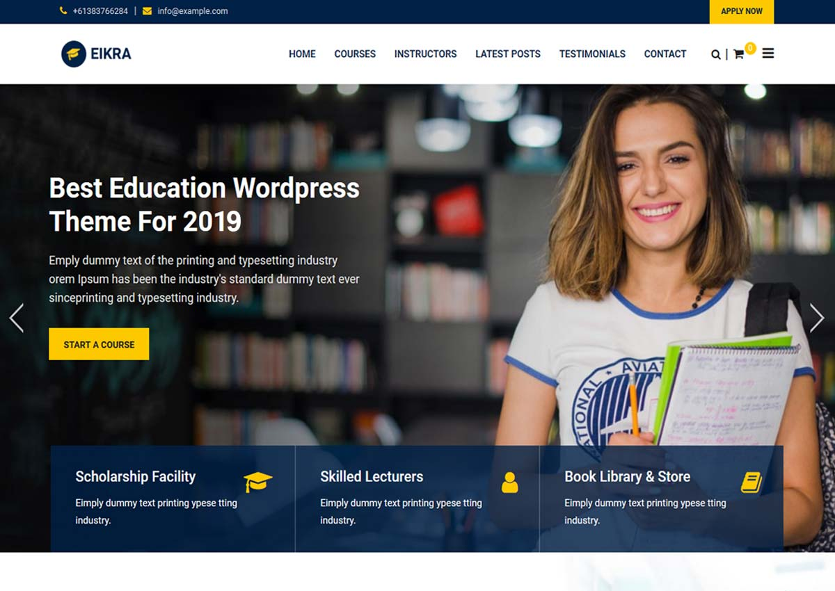 Awesome Educational WordPress Themes for Education,Event, eLearning and Online Courses 2019